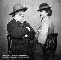 Whitman z ljubimcem Doyleom