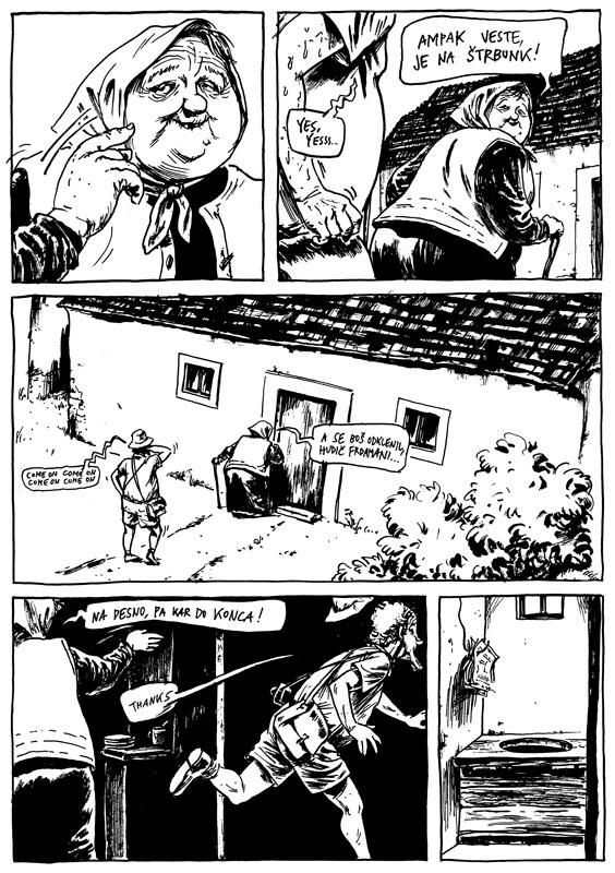 Podmazzane zgodbe - stripi po literarnih predlogah Mihe Mazzinija