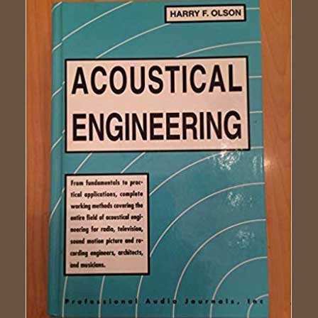 The bible of acoustics. The pdf is of a book which i read a lot at the Technical library of the University of Ljubljana in the early 1980s. First published in May 1957 – based on an earlier work entitled Elements of Acoustical Engineering